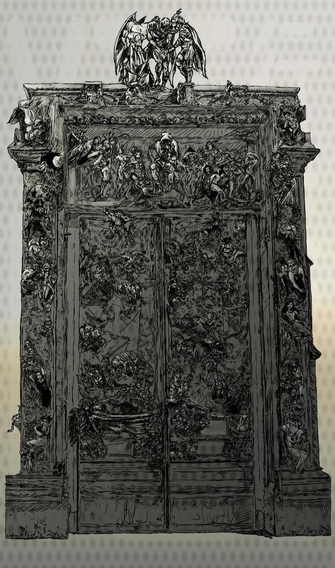 Gates of Hell-Ungodly Trinity by YUKU5U3