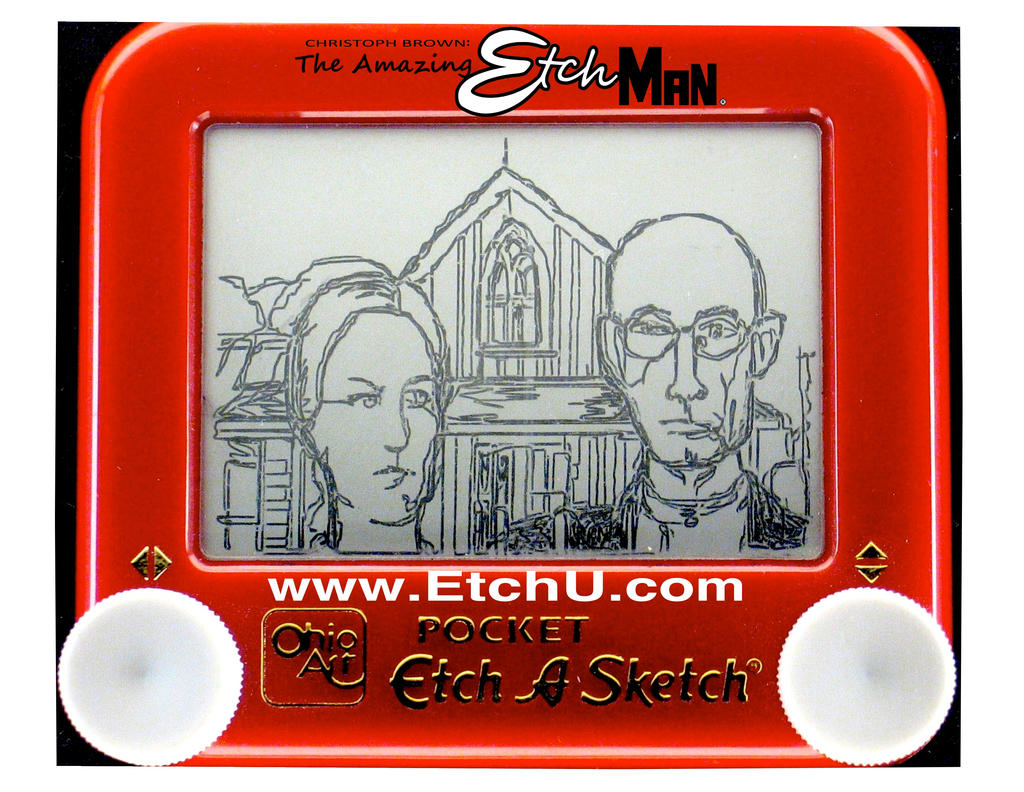 American Gothic by EtchUProductions