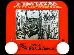 Batman Etch A Sketch