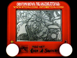Green Lantern Quick Change Etch A Sketch by EtchUProductions
