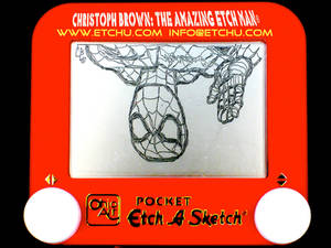 2.1 Spiderman Etch A Sketch