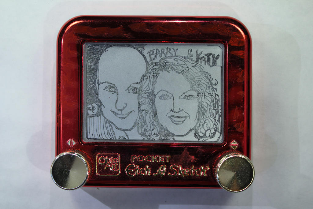KATY BLAKE and BARRY WILSON Portrait by EtchUProductions