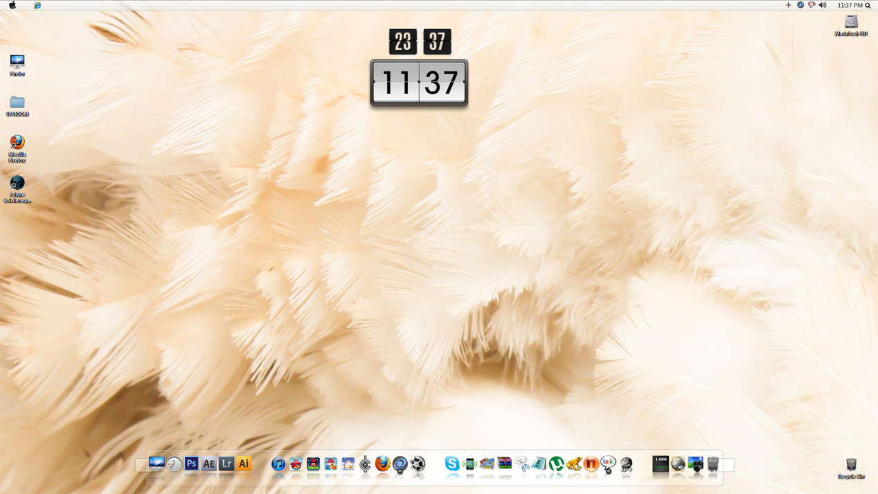 Feather Desktop by nanatrex