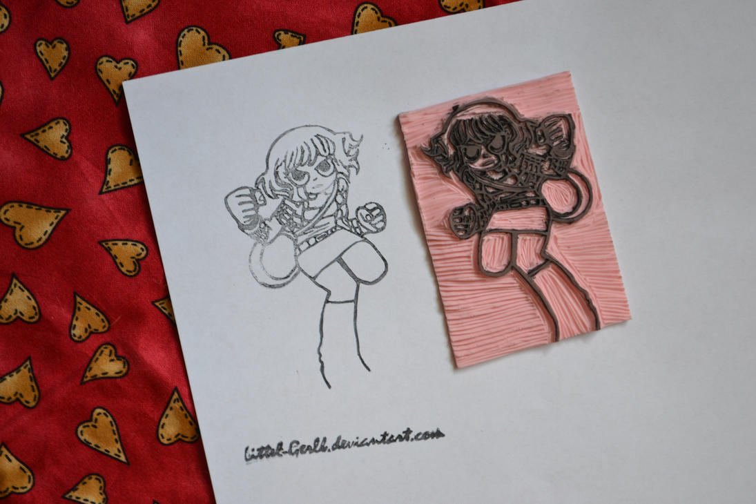 Ramona Flowers Stamp by Littel-Gerll