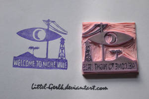 Welcome To Night Vale Stamp