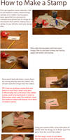 How to Make a Rubber Stamp Tutorial
