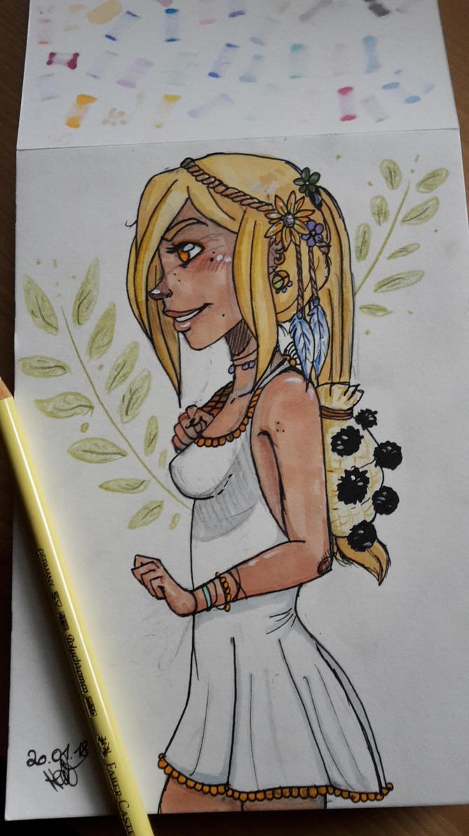 ..sunshine lady by muscardin
