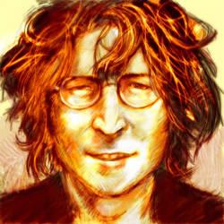 John Lennon by jackinbox