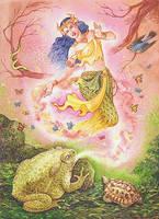 The Toad Princess by rinaswan