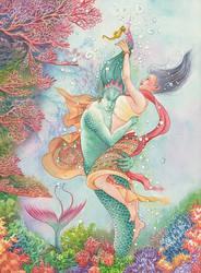 Fathomless Fantasy by rinaswan