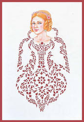 Red Head lady