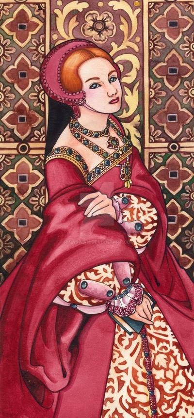 Tudor Lady No.6 by rinaswan