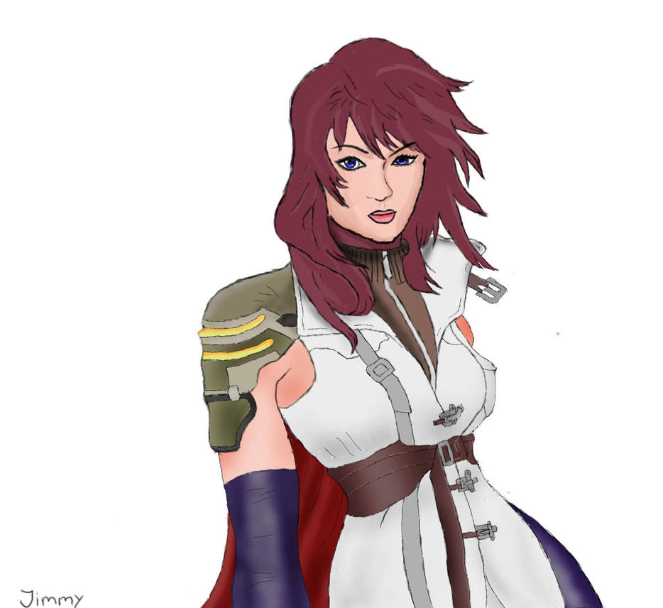 My drawing of Lightning by LillaPlupp