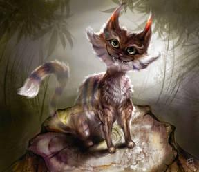 Cheshire Cat by fightingfailure