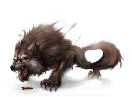 Beast of Gubbio by fightingfailure