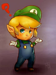 Luigink by fightingfailure