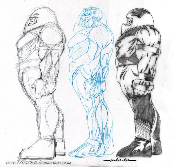Estudio Anatomia en el Comic by Ude2d2 on DeviantArt
