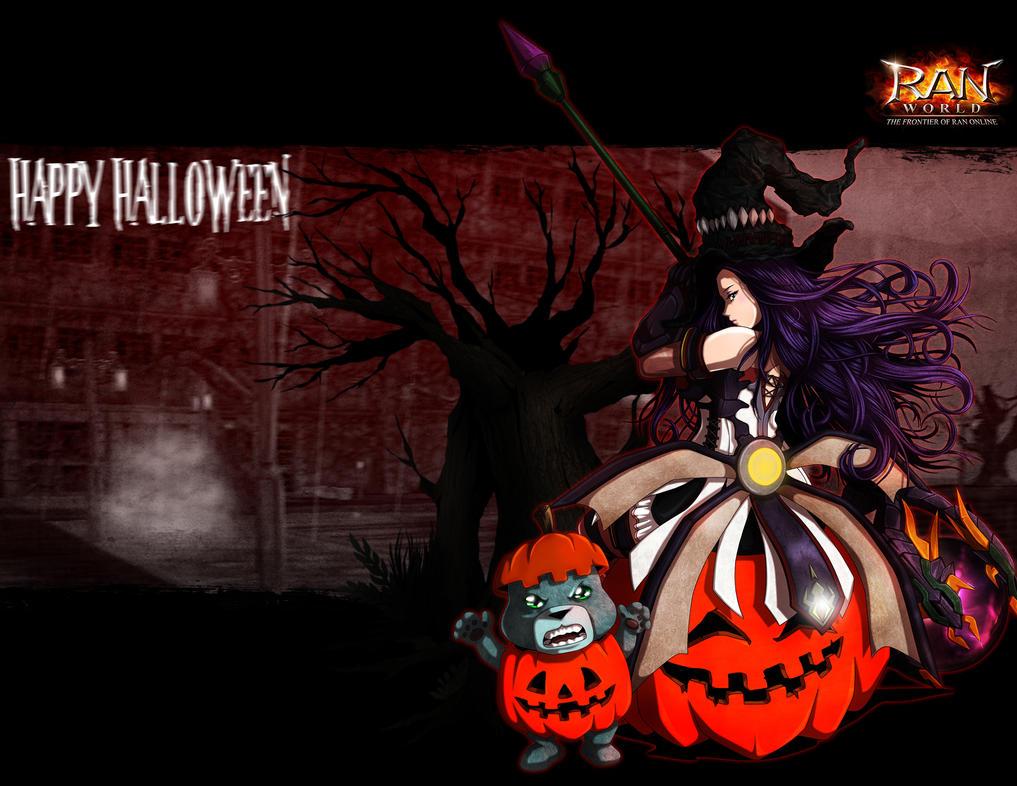 Halloween in Ran-World by jehx