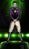 Jerome Valeska - Season 3 character poster (Joker)