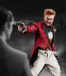 Jerome Valeska - Pointing gun