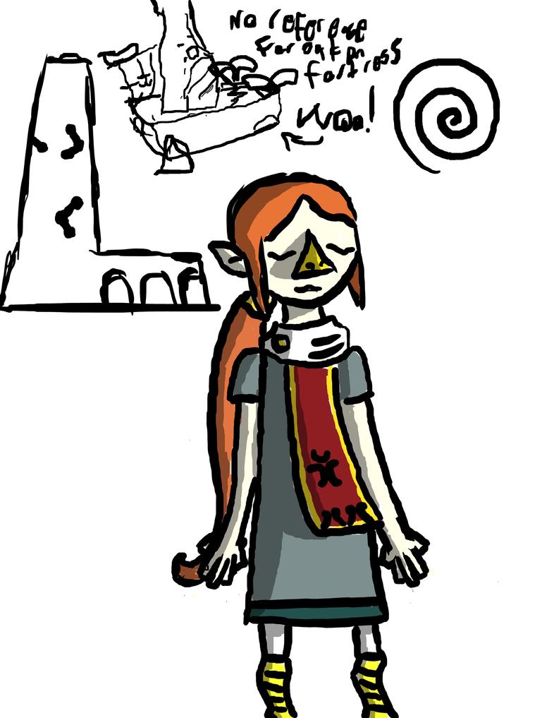 Wind waker doodles by InvertedSlime