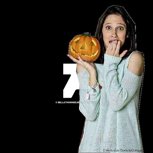 PNG de Lodovica Comello Halloween by BellaThornee