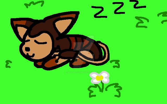 Choco Nap by megashadowmew