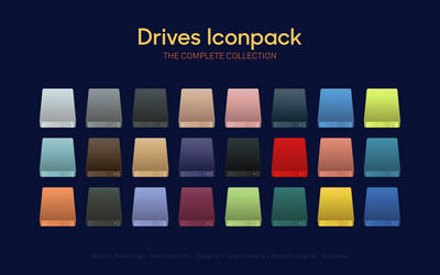 Drives Iconpack - Complete Collection by octaviotti