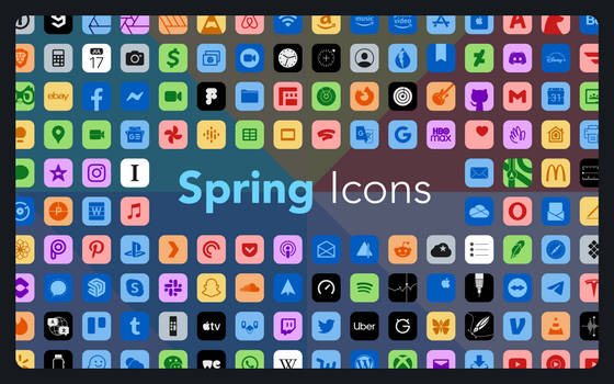 Spring Icons - An iOS Iconpack