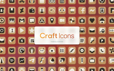 Craft Icons - An iOS Iconpack