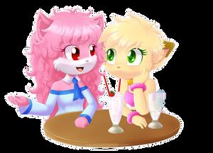 Commission: Annie y April