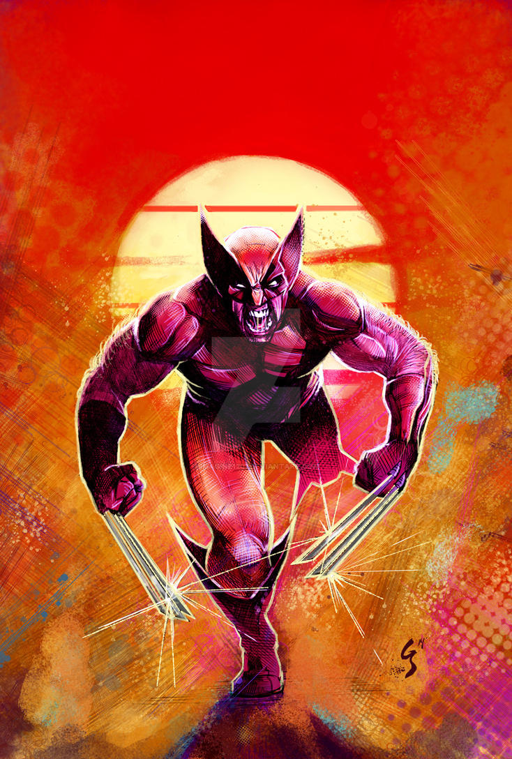 Wolverine Color Low by imagine1207