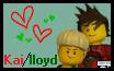 Ninjago: Kai/Lloyd stamp by strawberrybunny4341