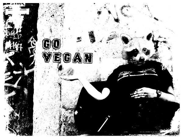 .GO VEGAN. by ungirlsetsfire