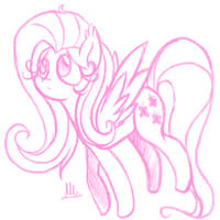 My little pony- Fluttershy by sonica-michi