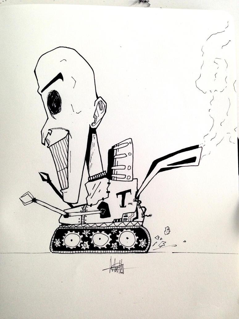 Thomas 'The Toy' Evans by Pimbirthon