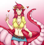 Monster Musume Miia - colored !