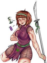 Warrior by TheRailz-Art