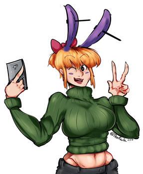 Bunny Girl Sweater