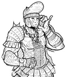 For Honor - Swagturion by TheRailz-Art