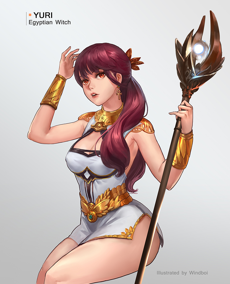 Yuri - Egyptcian witch by windboi