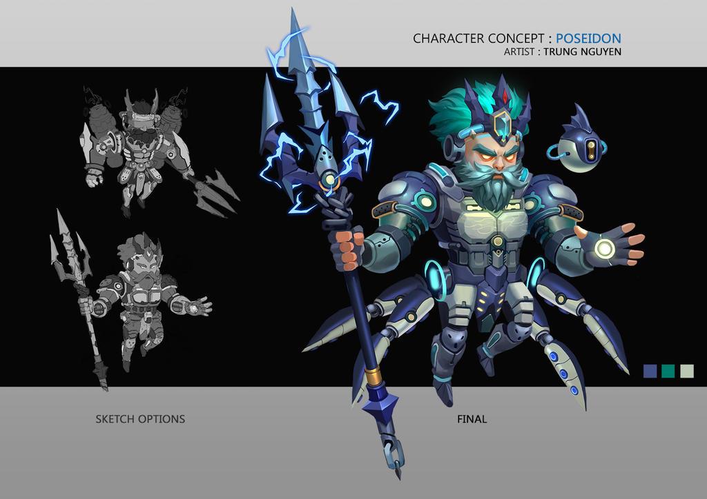 Character Design Techniques By Tokkun Academy : Windboi nguyen mai trung deviantart