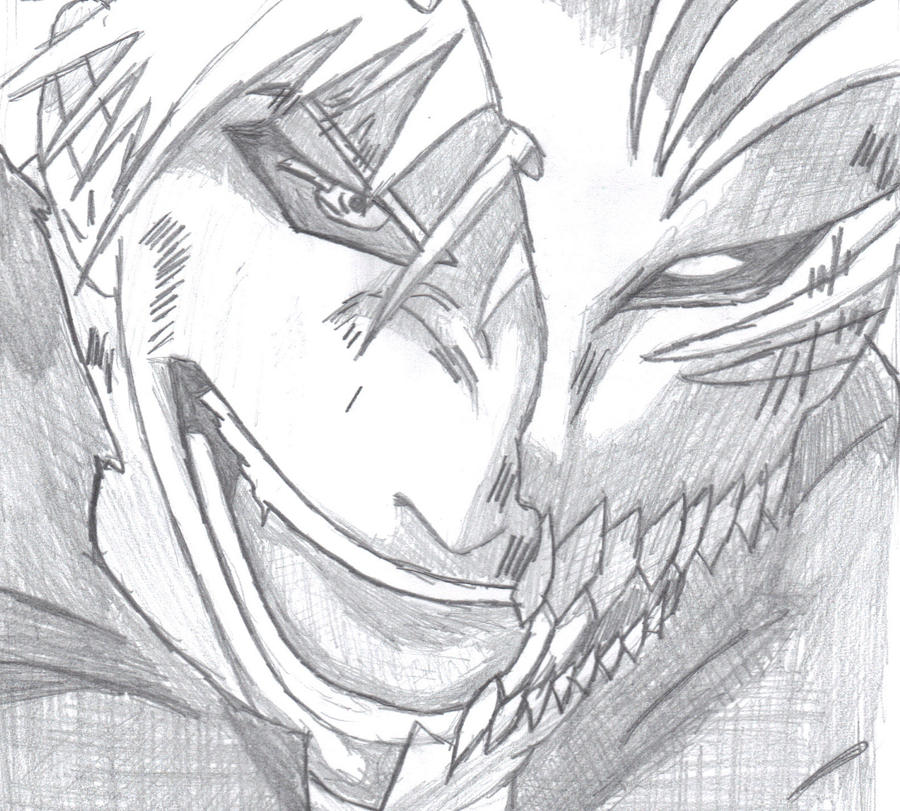 Ichigo Hollow Mask by AeliaDarkness