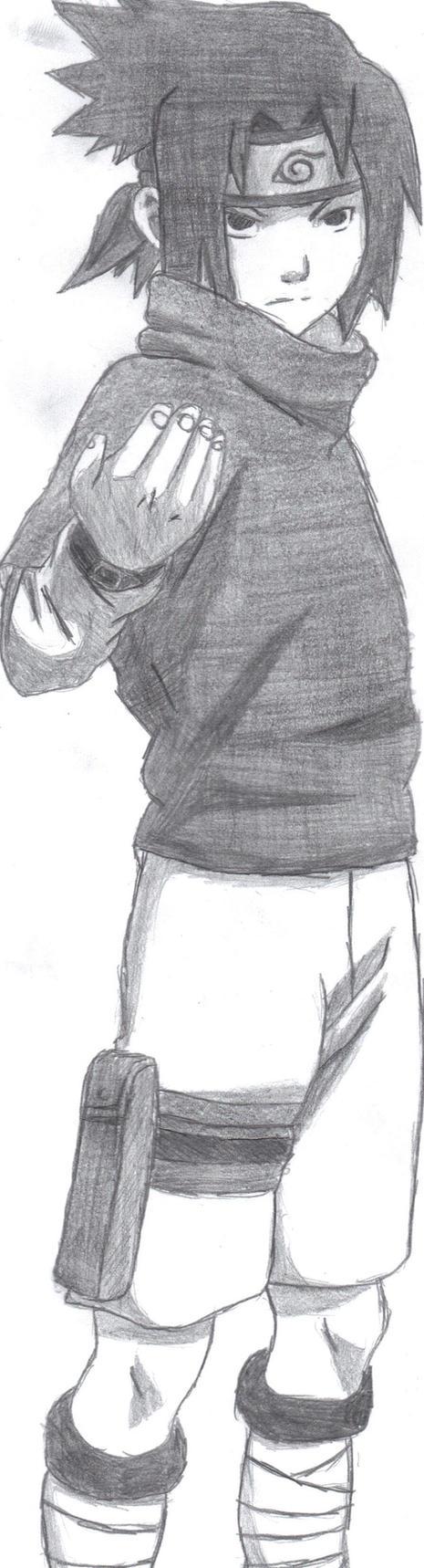 Sasuke Uchiha by AeliaDarkness on DeviantArt