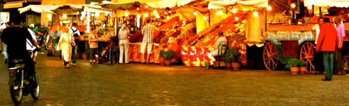 Market Scene - Morocco by RachelJane0711