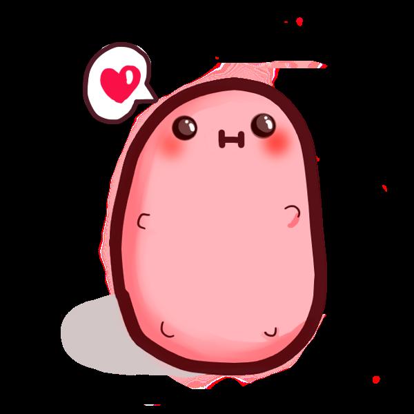 Keep Calm and be a Kawaii Potato