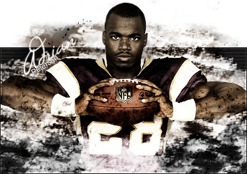 Adrian Peterson by FeathersoftheRuin