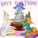 Com: Happy Birthday Trixie!