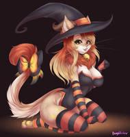 Com: Witch Nia by BunnyWhiskerz