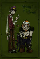 Woland's troupe by vanilliacoke
